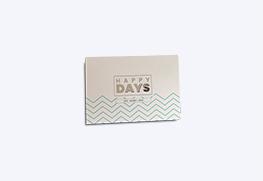 Raised Digital Foil Greeting Cards