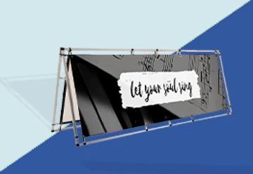 A-Frame Banner Stands