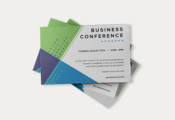 Corporate Event Invitations