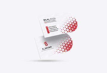 Half Circle Business Cards Printing