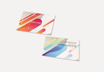Raised Foil Postcard Printing