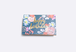 Foil Stamp Greeting Cards
