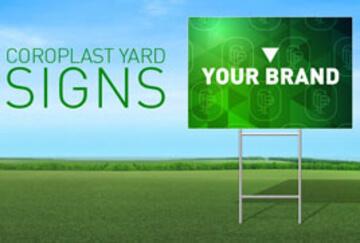 Coroplast Yard Signs