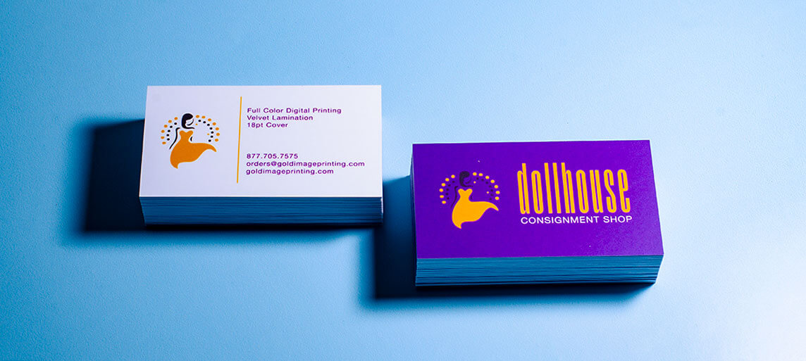 Velvet Business Card Printing
