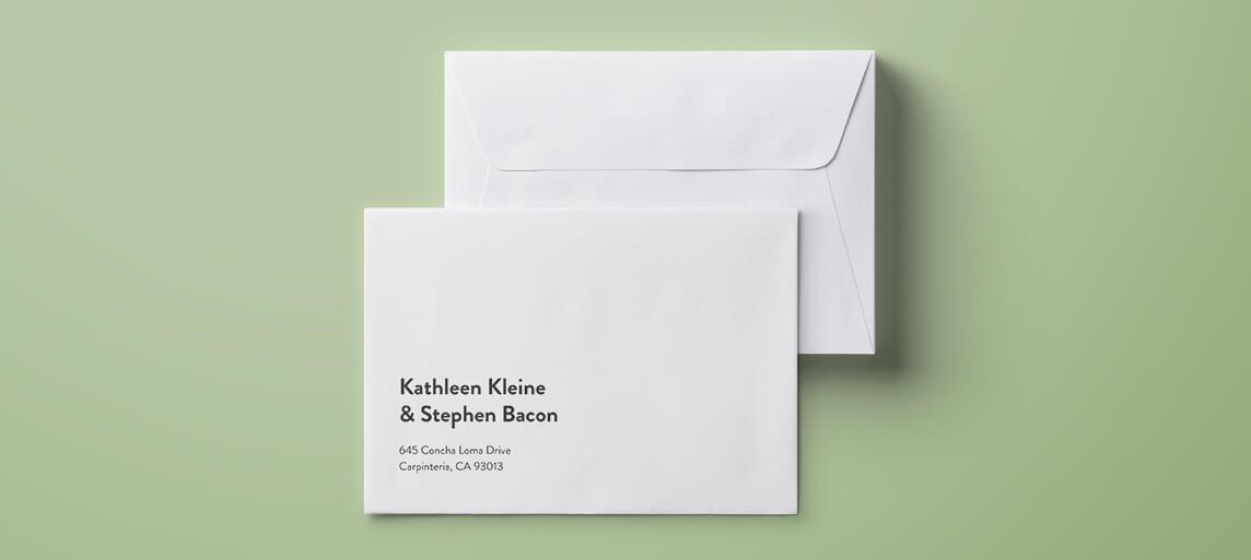 envelope E