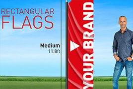 Rectangle Outdoor Flags
