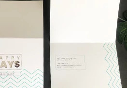 Raised Digital Foil Greeting cards 3