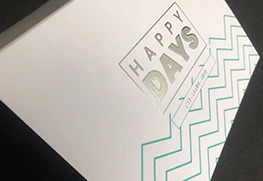 Raised Digital Foil Greeting cards 2