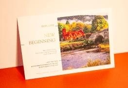 Digital Foil Postcard printing
