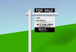 Real Estate Sign Post Printing