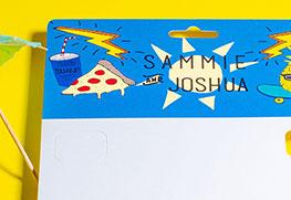 Head Cards (Sammie and Joshua)