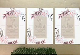 Wedding Invitations F