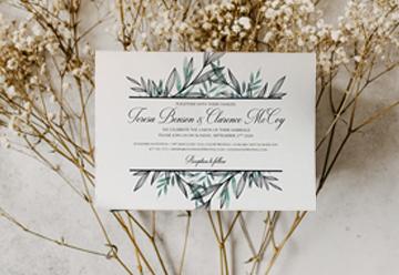 Wedding Invitations E