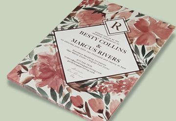 Custom Wedding Invitations Printing