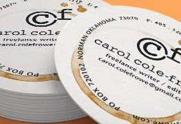 Circle Business Cards