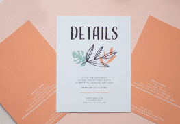 Wedding Details Cards Printing