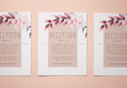 Reception Cards Printing