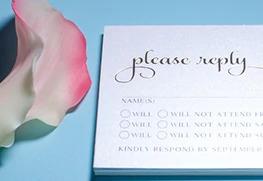 Custom RSVP Card Printing