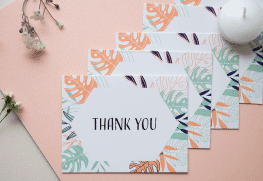 Wedding Thank You Card Printing