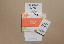 Wedding Belly Band Printing