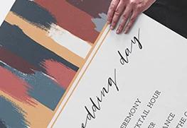 Wedding Sign Printing