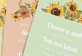 Wedding Signage Printing