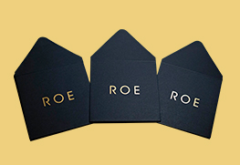 Gold Foil Wedding Envelopes