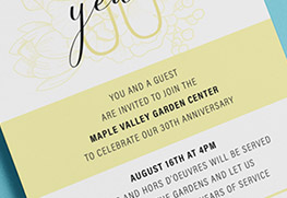Business Anniversary Invitations