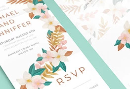 All-in-One Wedding Invitation Printing