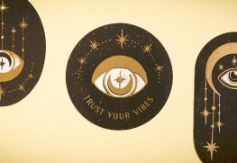 Custom Gold Foil Stickers