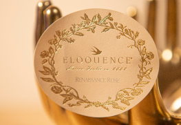 Gold Foil Roll Label Printing