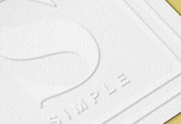 Emboss Sticker Label Printing