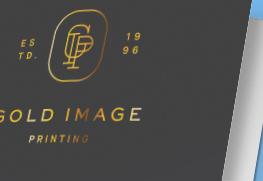 Gold Foil Stamp Folders