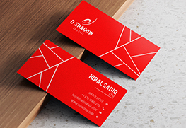 Colorplan Business Cards with White Ink