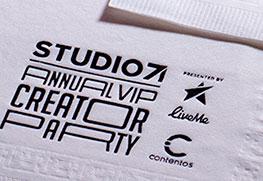 Foil Napkin (Studio)