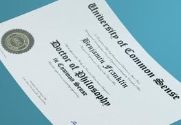 Graduation Certificates E