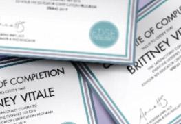 Graduation Certificates B