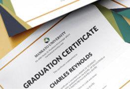 Graduation Certificates A