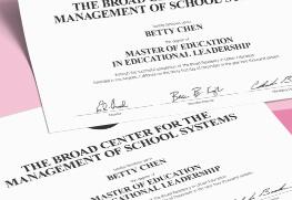 Graduation Certificate C