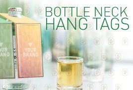 Bottle Neck hang tags