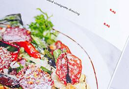 Restaurant Menu (Salad)