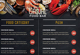 Restaurant Menu (Casual)