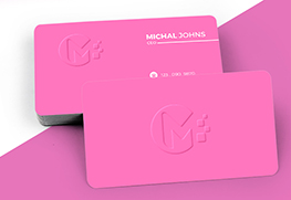 Custom Emboss Business Cards