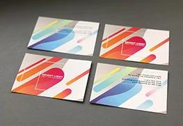 Raised Digital Foil Postcards