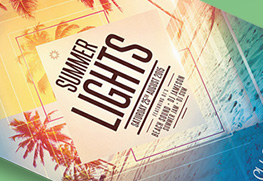 Club Flyer (Summer Lights)
