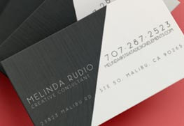 Soft Touch Business Cards A