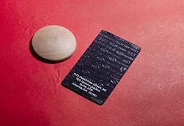 Foil Stamp (Black)