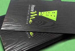 Spot UV Business Cards E