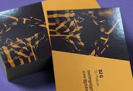 Spot UV Business Cards C