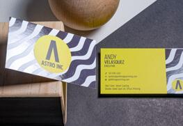 Spot UV Business Cards A